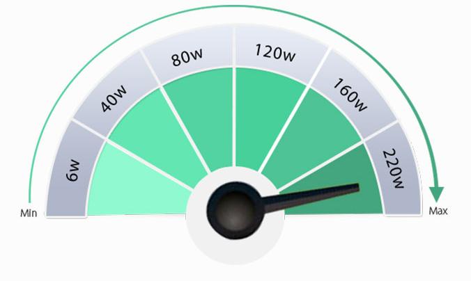 smok h-priv full kit output wattage