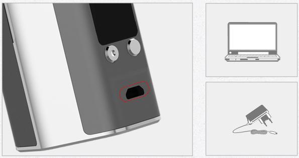 Reuleaux RX200S tc mod charging