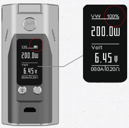 RX200S Brand-new Interface with 0.96inch Large Display Screen