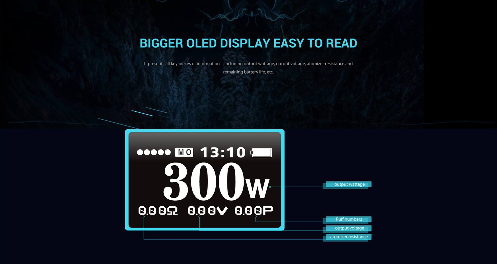 smok koopor primus bigger oled screen display