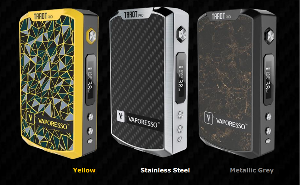 Creative Vaporesso Tarot Pro 200vtc Mod Is Coming With A