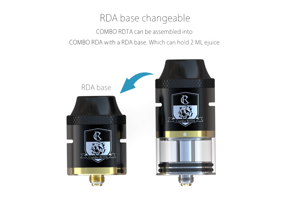 COMBO RDTA TANK best features