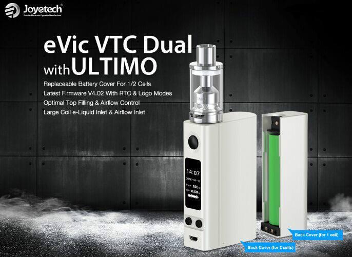 Joyetech evic vtc dual with ultimo