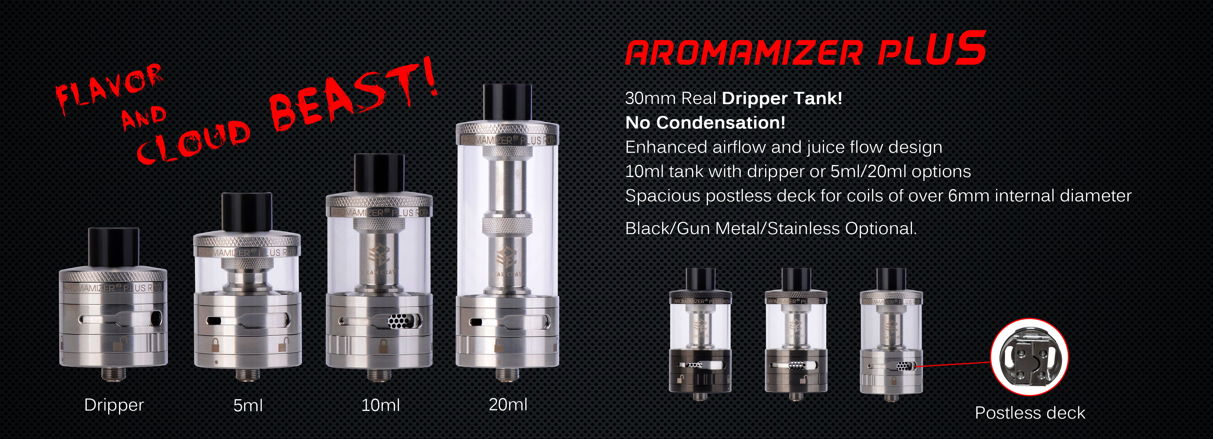 Aromamizer Plus RDTA