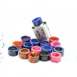 Resin Mouthpiece Drip Tip For The Recoil RDA by GrimmGreen X OhmBoyOC (2PCS)