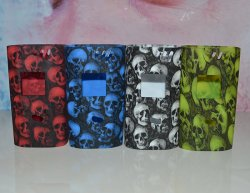 Skull Silicone Sleeve Case SMOK Alien 220W Kit