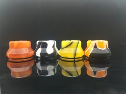 22mm 510 Wide Bore Resin Drip Tip (3PCS)