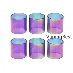 Replacement Rainbow Glass Tube for VandyVape Kensei RTA Tank (2PCS)