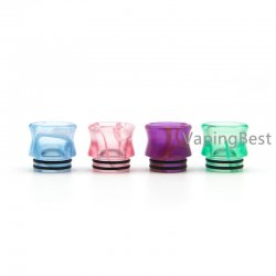 Colorful Acrylic 810 Drip Tip Mouthpiece for Eleaf Ijust 3 Ello Duro & All 810 Sized Tanks