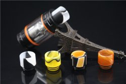 3PCS Resin Drip Tip Wide Bore For TFV8 Goon 528 Kennedy 24 Battle Griffin 25 TFV8 Big Baby