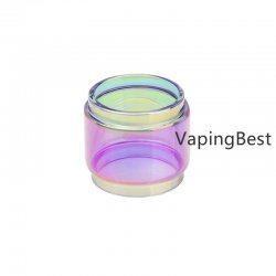 Smok Stick V8 Rainbow Transparent Fatboy Expansion Glass Tube Replacement (2PCS)
