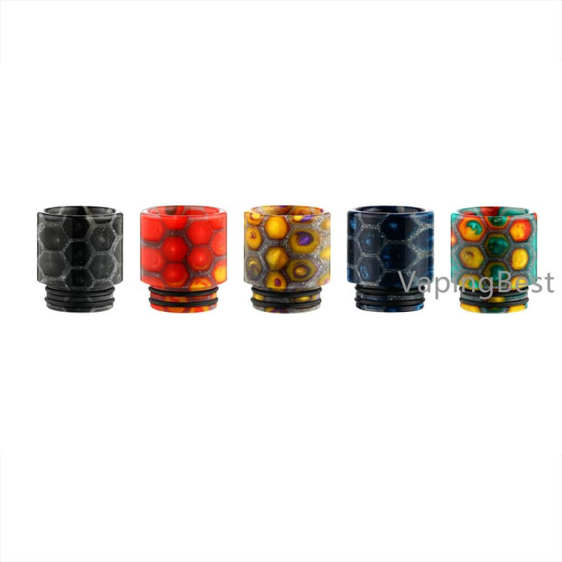 Epoxy Resin Honeycomb Drip Tip 810 Mouthpiece for IJOY Captain X3 & All 810 Sized Tanks