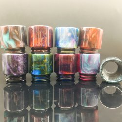 Wide Bore Resin Drip Tip For Smok TFV8 Tank