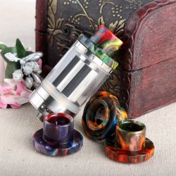Wide Bore Resin Drip Tip for Aspire Cleito 120 tank