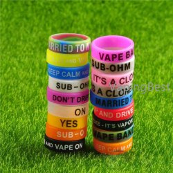 5PCS 22x7x1.5mm Vape Band Decorate Rings For Mods RBA RDA Atomizers