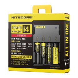 Authentic Nitecore IntelliCharger I4 Battery Charger