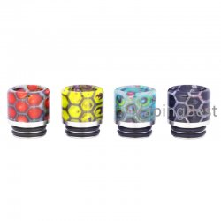 Anti Spit Back Honeycomb Mouthpiece Stainless Steel 810 Drip Tip for All 810 Sized Tanks