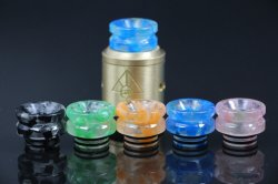 Dumbbell Luminous Delrin Drip Tip For TFV12 TFV8 X Baby Goon tanks