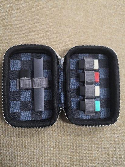 Pod System Vape Podscase Travel Carrying Case for Juul Kit/MLV Phix