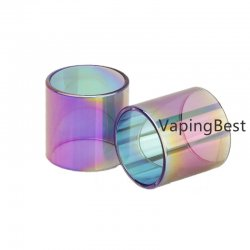2PCS Rainbow Replacement Pyrex Clear Glass Tube For Aspire tigon 3.5ml tank