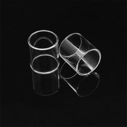 Replacement Glass Tube For SMOK TFV8 big baby RBA Tank (5PCS)