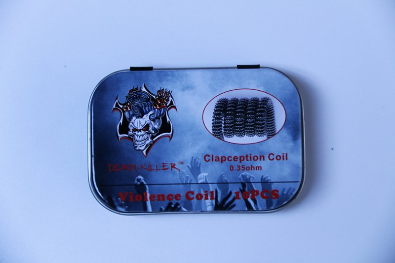 Demon Killer Clapception Coil 0.35ohm 10PCS