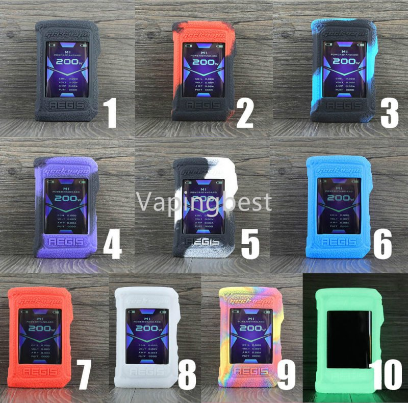 GeekVape Aegis X ModShield Silicone Case Protective Cover Shield Wrap Sleeve Skin