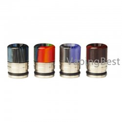 810 Anti Spit Back Stainless Steel & Resin Mouthpiece 810 Drip Tip for TFV8/TFV12 and All 810 & Goon Sized Tanks