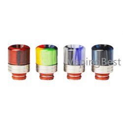 510 Anti Spit Back Stainless Steel Mouthpiece 510 Drip Tip for Smok Stick M17 and All 510 Sized Tanks
