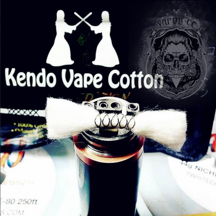 Authentic Kendo Vape Cotton Gold Edition