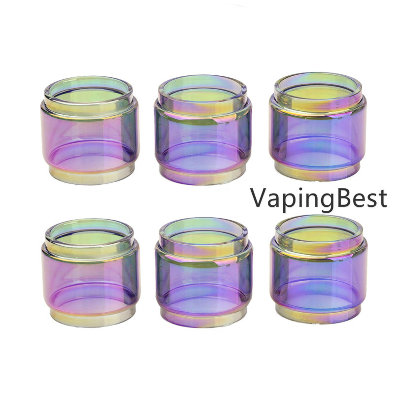 2PCS AIVAPE Scale MTL RTA 5.5ml Rainbow Bubble Glass Tube