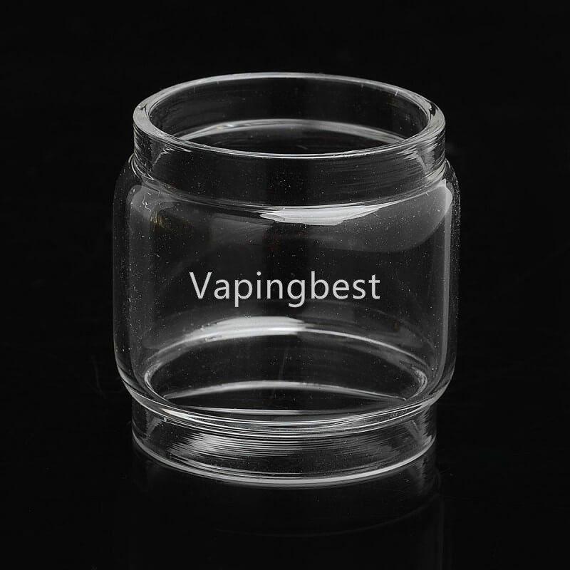 3PCS eXvape Expromizer V4 Bubble Glass Tube Fatboy Replacement