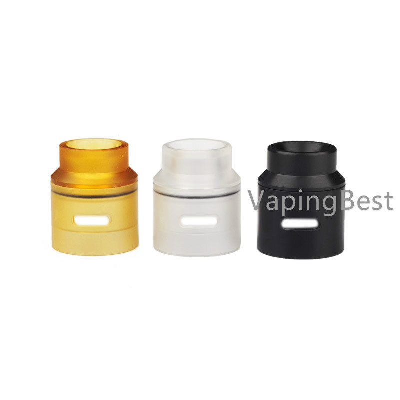 Goon V1.5 RDA PEI Ultem Colorful 24mm Top Cap Replacement by Goon 528 Custom Vapes