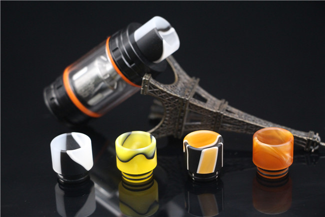 Resin Drip Tip Wide Bore For TFV8 Goon 528 Kennedy 24 Battle Griffin 25 TFV8 Big Baby