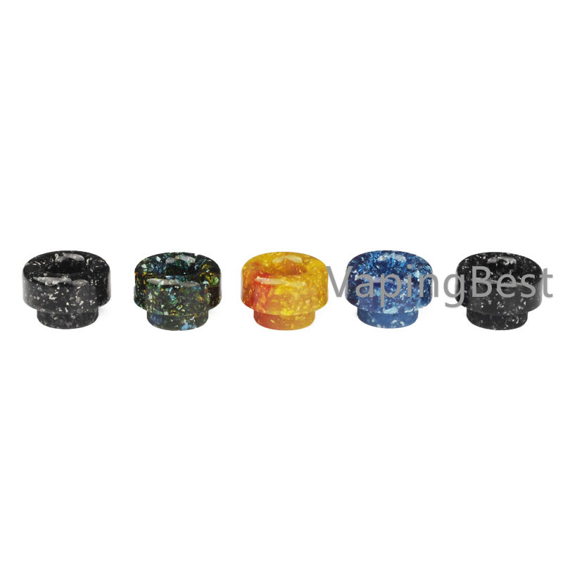 Colorful Resin Drip Tip Mouthpiece For Goon Low Profile RDA (GOON LP)