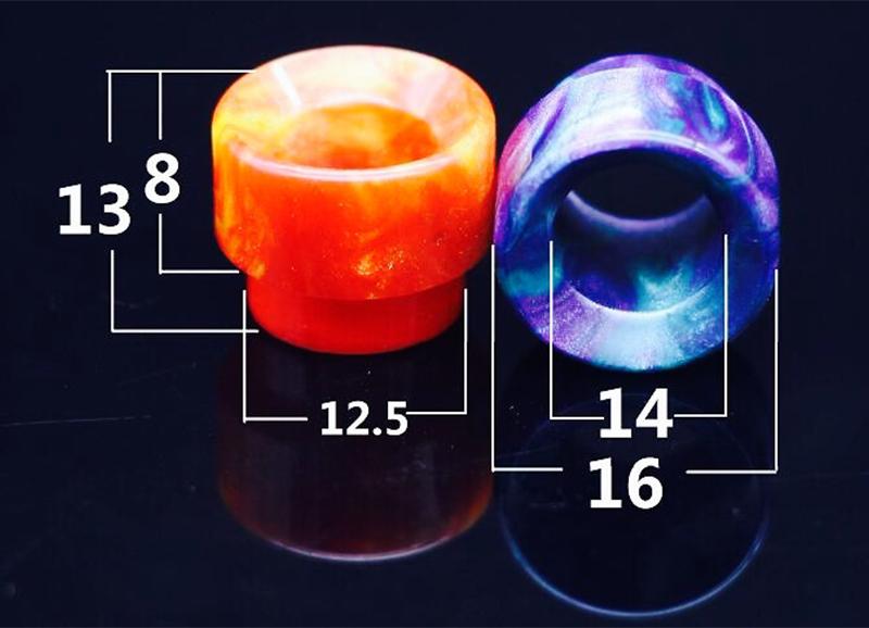 buy Imported Resin Drip Tip For Kennedy rda Goon 528 AV