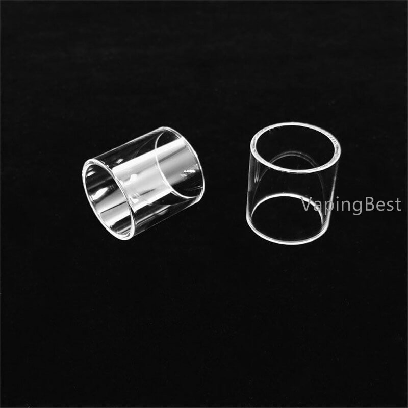 Replacement Transparent Pyrex Glass Tube for SMOK Resa Prince 2ml Tank (5PCS)