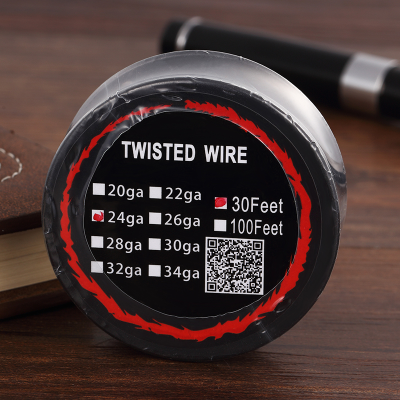 buy Kanthal A1 Twisted Wire black