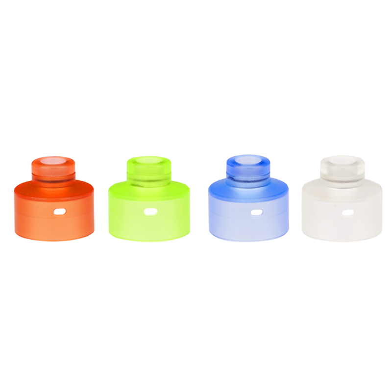 Colourful Acrylic Replacement Top Cap with Drip tip for NarDA RDA Tank