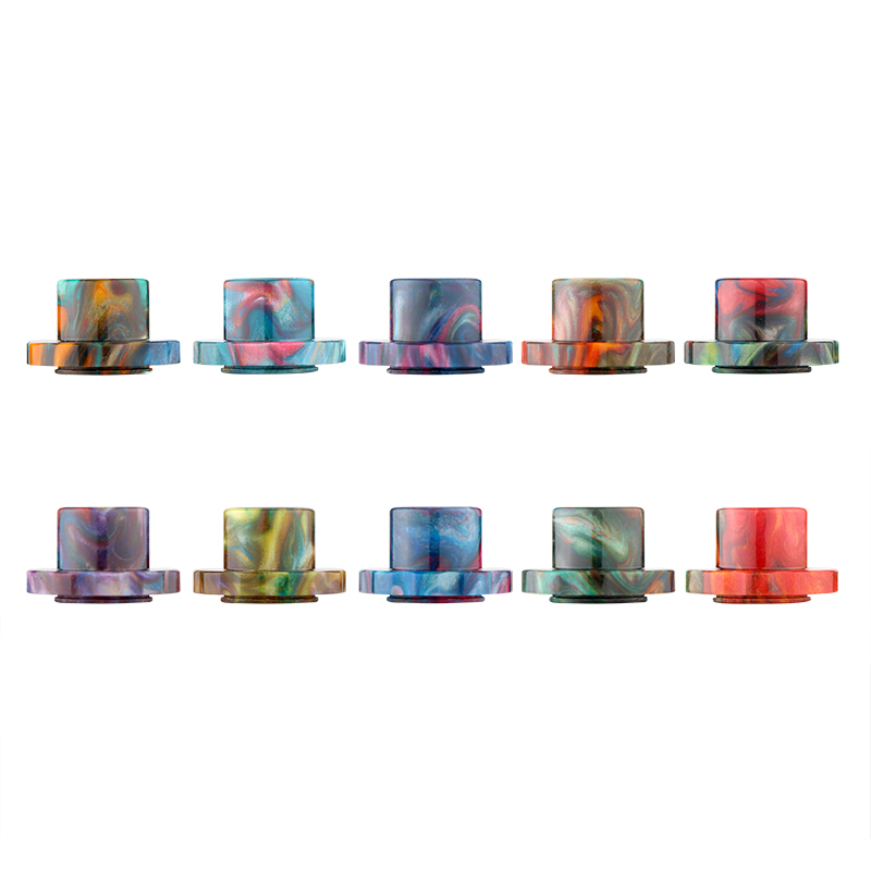 cheap Wide Bore Resin Drip Tip for Aspire Cleito 120 tank 2PCs