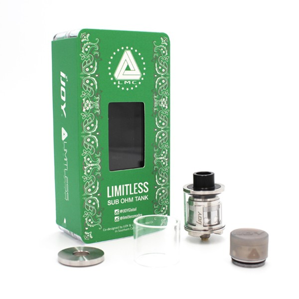 ... IJOY LIMITLESS SUB OHM TANK Cheap in stock with Free Shipping: www.vapingbest.com/ijoy-limitless-sub-ohm-tank-p-730