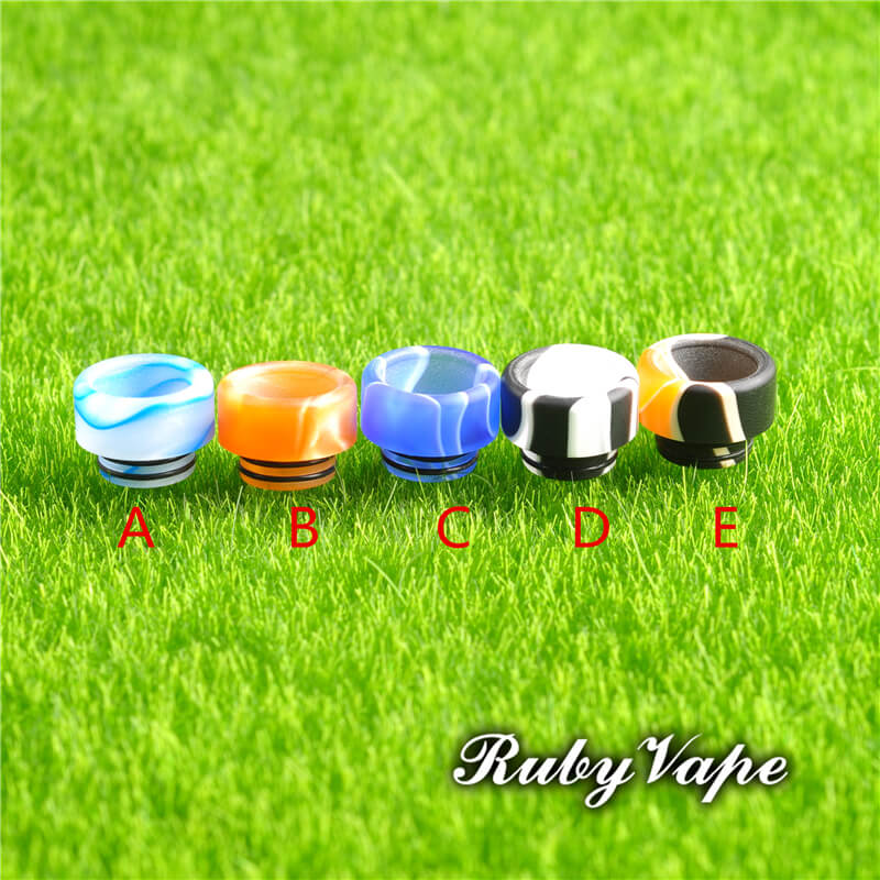 Acrylic Wide Bore Drip Tip For ijoy Captain Tank