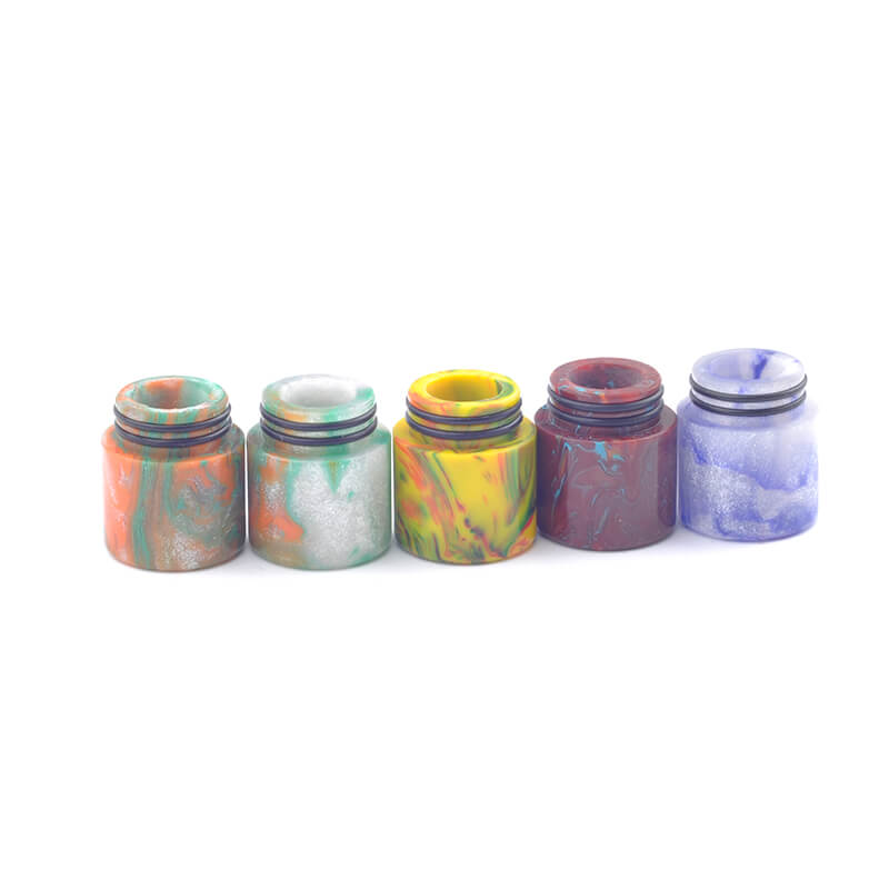 18mm Wide Bore Resin Drip Tip for Ijoy Maxo v12 Tank