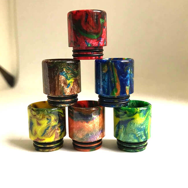 New 18mm wide bore resin drip tip for tfv8 tfv12 tank (2PCS)