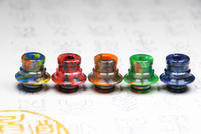 Beautiful Delrin Drip Tip for OBS Engine RTA/OBS Engine Nano (2PCS)