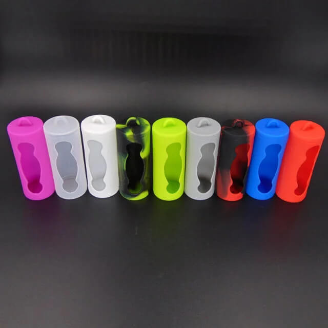 Silicone Case Protective Cover Wrap for 26650 Battery (10PCS)