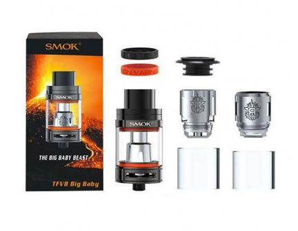 Newest Authentic Smok Tfv8 Big Baby Beast Tank With Best Price